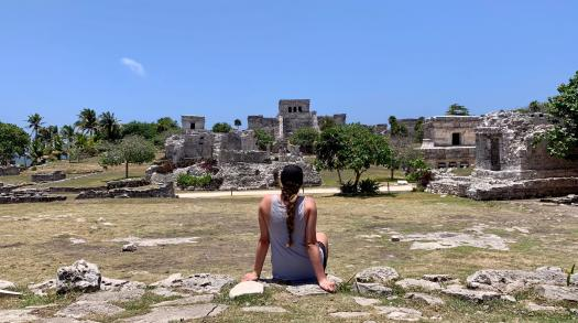 Spending the Morning in Tulum on Mexico's Yucatan Peninsula